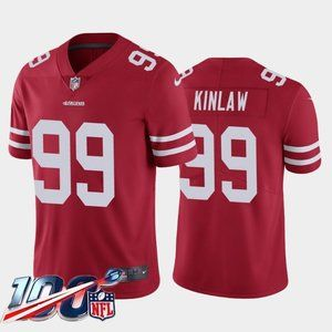San Francisco 49ers Javon Kinlaw Red Jersey